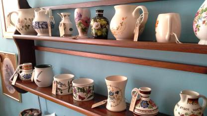 Pretty jugs and pots