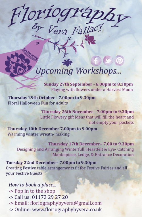 Workshops Poster september 2015