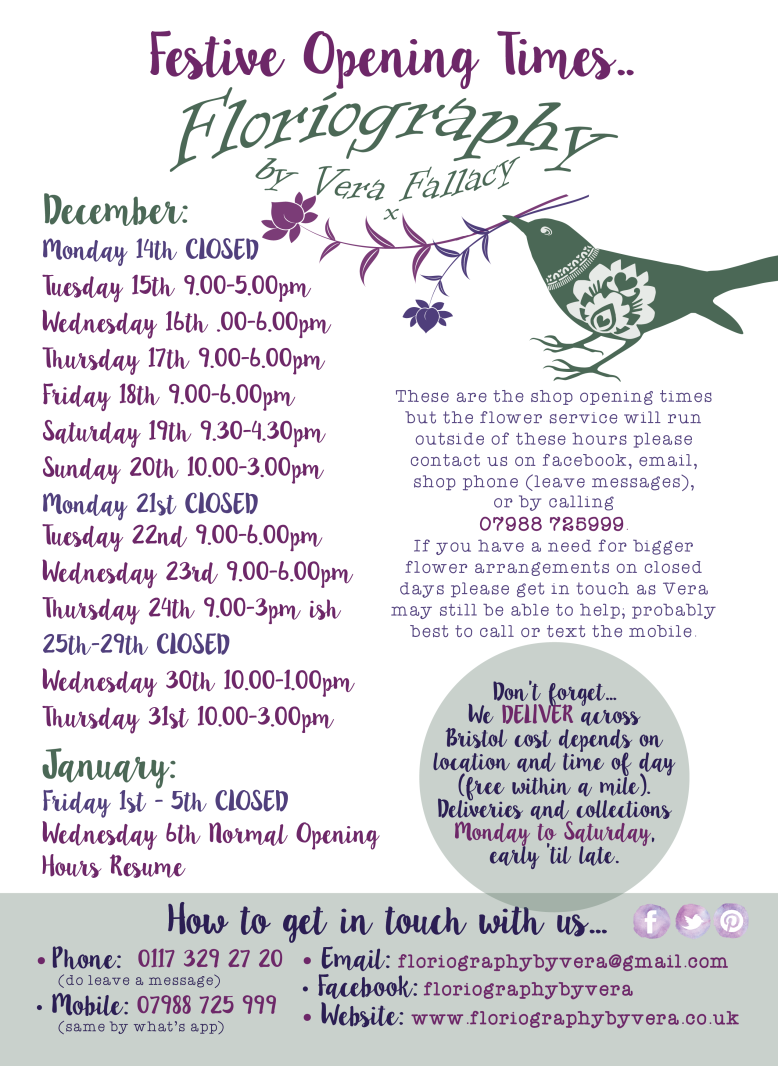 Festive Opening Times-01